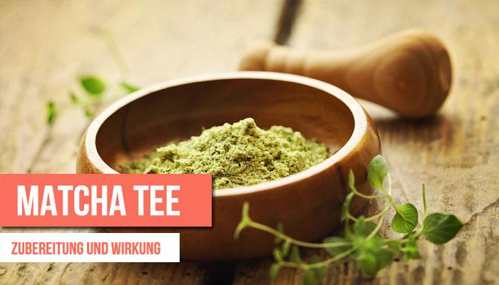 matcha-tee zubereitung