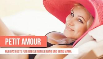 Petit Amour: Umstandsbademode, Still BHs und Wickeltaschen