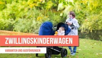 Der Zwillingskinderwagen – nebeneinander oder hintereinander
