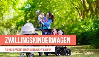 Einen Kinderwagen gebraucht kaufen: Nichts spricht dagegen.