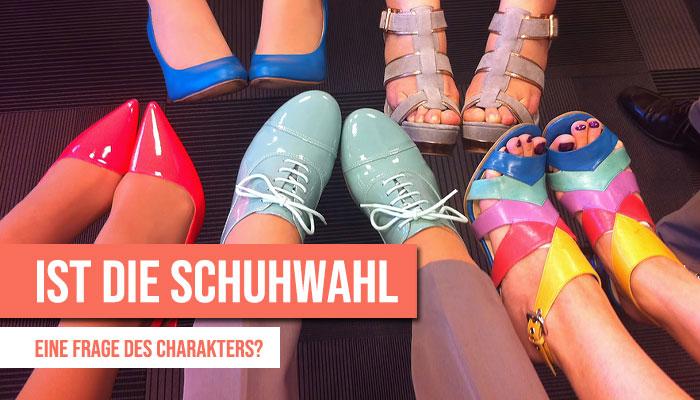 Schuhwahl-Frage-Charakter