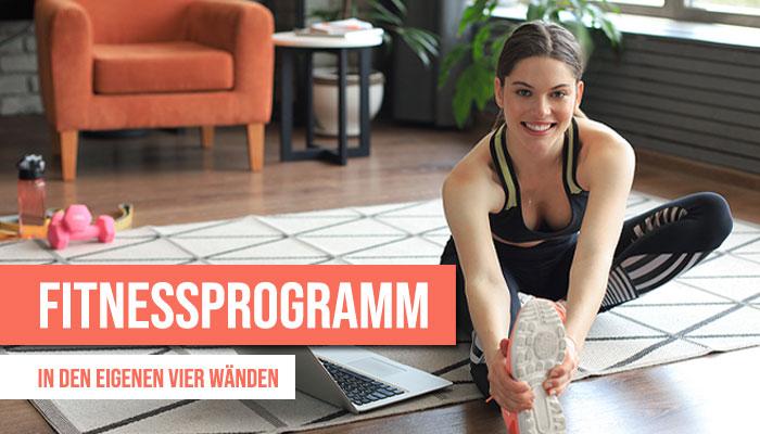 fitnessprogramm zuhause
